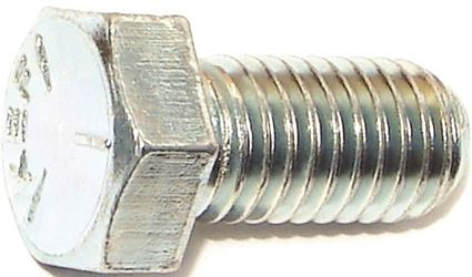 Midwest Fastener 1/2X1In Zinc Hex Screw Gr5