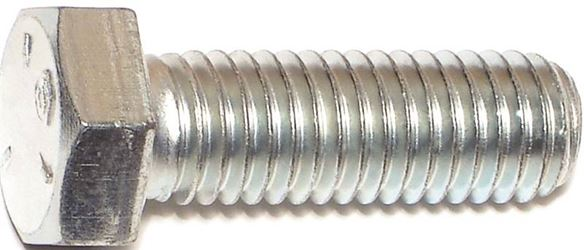 Midwest Fastener 1/2X1-1/2In Zinc Hex Screw Gr5