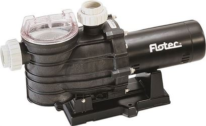 Flotec AT251501 In-Ground Pool Pump, 90 gpm at 50 ft Head, 1-1/2 hp, 115/230 V