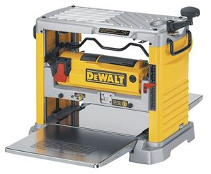 DeWalt DW734 Heavy Duty Portable Stationary Corded Planer With Three Knife Cutter-Head, 120 VAC, 15 A, 12-1/2 in W