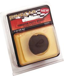 Pine Car P3922 Weight Putty 1oz Tungstn 6 Pack