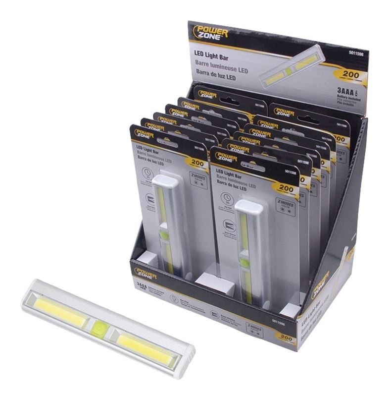 PowerZone Light Bar WirelEss Led Cob 200L