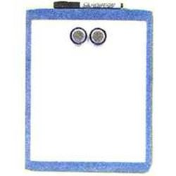 Acco Quartet Magnetic Dry Erase Board, 11 X 17 In, Plastic Assorted Frame