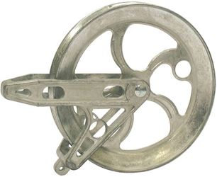 Strata 90290 Standard Clothesline Pulley, 6-1/2 in OD, Metal