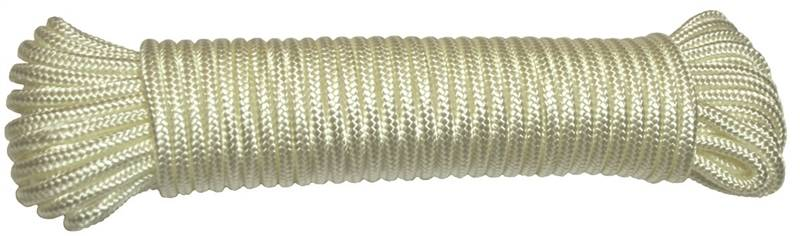 Ben-Mor 60410 Diamond Braided Rope, 3/16 in Dia x 50 ft L 6 Pack