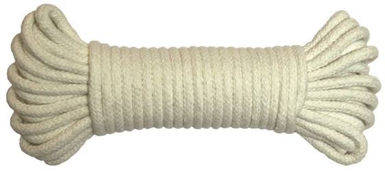 Ben-Mor 60611 Braided Rope, 9/64 in Dia x 30 ft L 12 Pack