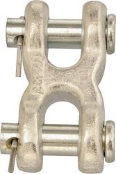 Campbell T5423301 Twin Clevis Link, 3/8 in, For Use With Proof Coil or High Test chain