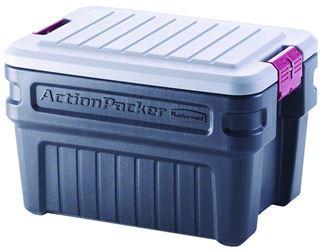 ActionPacker RMAP240000 Storage Container, Plastic 4 Pack