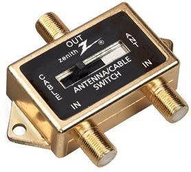 American Tack and Hdwe VR1001SW2W Zenith A/B Switches, Coax