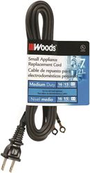 Coleman 0288 Hpn Replacement Extension Cord, 16/2, 7 Ft