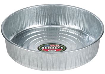 Behrens 2168 Recyclable Seamless Utility Pan, 3 gal, 16-1/4 in W X 4 in H X 28 ga T, Steel