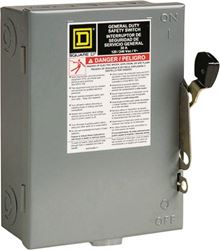 Square D By Schneider Electric D211Ncp Fuse Sfty Switch 30A
