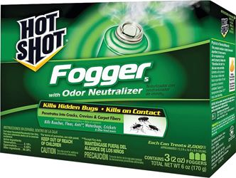 Hot Shot 96180 Insect Fogger, 2 oz, Pyrethroid Nozzle