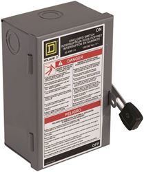 Square D By Schneider Electric L211N 30A Fusibl Safety Switch