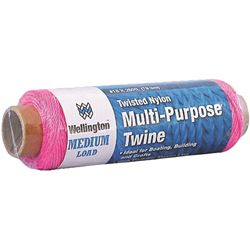 Lehigh Group 44372 Pink Nyl Twine #18 260Ft