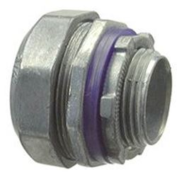 Halex 91625 Multi-Piece Liquid Tight Compression Connector, 1/2 In Flexible, Die Cast Zinc