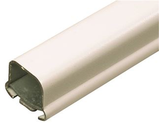 Legrand B-1 Wire Channel, 17/32 in W x 3/4 in H x 5 ft L, Metal, Ivory