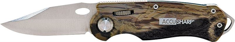 Camouflage Folding Sport Knife, Stainless Steel