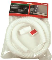 Cordmate II Flex CM62 Split Flexible Tube, 3/4 in 5 ft L, White