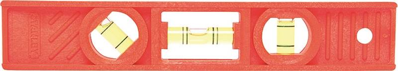 Stanley 42-294 Torpedo Level, 8 in L, ABS Plastic