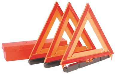 Peterson 449 Emergency/Warning Triangle Kit, 3 Pieces