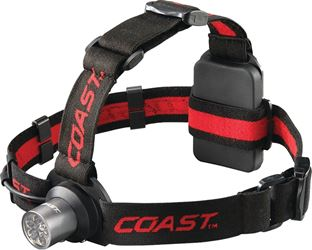 Coast HL5 Adjustable Head Lamp, LED, Broad, Even Beam