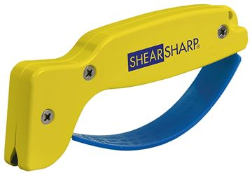 Accusharp Shear Sharp Scissor Sharpener, For Use With Scissors, Hedge Clippers and Tin Snips