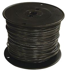 Southwire 12Bk-Solx500 Solid Single Building Wire, 12 Awg, 500 Ft, 15 Mil Thhn