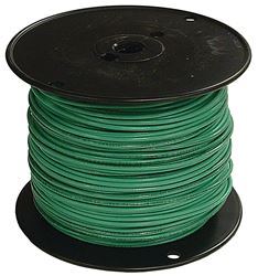 Southwire 12Grn-Solx500 Solid Single Building Wire, 12 Awg, 500 Ft, 15 Mil Thhn