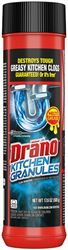 Drano 00125 Kitchen Granules, Granules, 17.6 oz