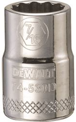 Dewalt Dwmt74530Osp Socket, 3/8 In, 7/16 In, 12 Point