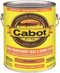 Cabot 0380 Stain Deck Oil Redwood 4 Pack