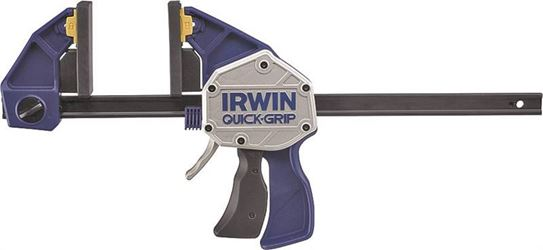 Irwin Quick Grip XP600 High Pressure One Handed Bar Clamp/Spreader, 6 in, 600 lb