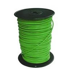 Southwire 10Grn-Solx500 Solid Single Building Wire, 10 Awg, 500 Ft, 20 Mil Thhn