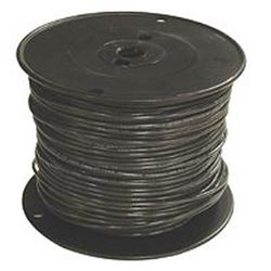 Southwire 12Bk-Strx500 Stranded Single Building Wire, 12 Awg, 500 Ft, 15 Mil Thhn
