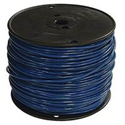 Southwire 12Blu-Strx500 Stranded Single Building Wire, 12 Awg, 500 Ft, 15 Mil Thhn