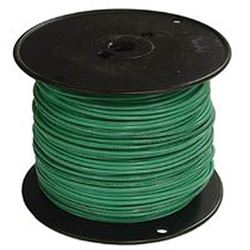Southwire 12Grn-Strx500 Stranded Single Building Wire, 12 Awg, 500 Ft, 15 Mil Thhn