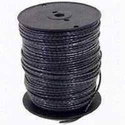 Southwire 10Bk-Strx500 Stranded Single Building Wire, 10 Awg, 500 Ft, 20 Mil Thhn