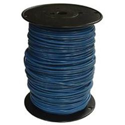 Southwire 10Blu-Strx500 Stranded Single Building Wire, 10 Awg, 500 Ft, 20 Mil Thhn
