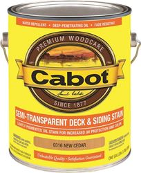 Cabot 0316 Cab Oil S/t New Cedar Gal 4 Pack