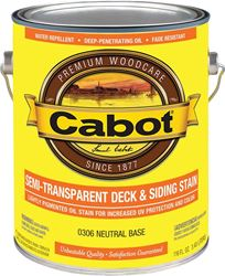 Cabot 0306 Cab Ol S/t Neutral Gal 4 Pack