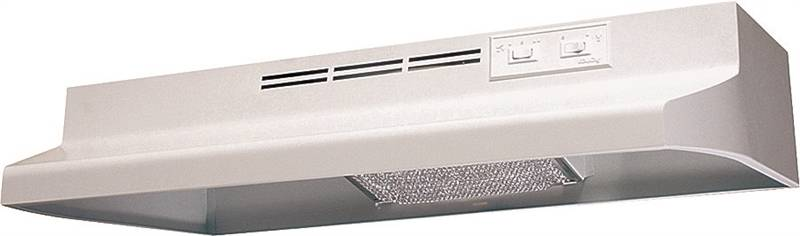 Air King Advantage AD AD1303 Under Cabinet Ductless Range Hood, 180 cfm, 23 ga Cold Rolled Steel