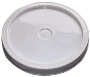Argee Rg501Lg/120 Heavy Duty Bucket Lid With Gasket, 8 In Dia, 1 In D, Plastic, For Use With 1 Gal Pail