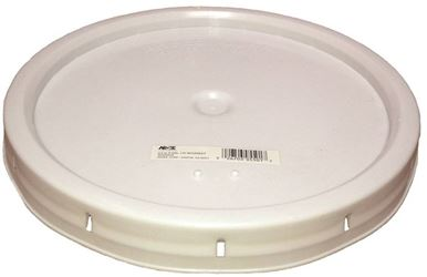Argee Rg5502G/60 Heavy Duty Bucket Lid With Gasket, 12 In Dia, 0.9 In D, Plastic, For Use With 5 Gal Pail