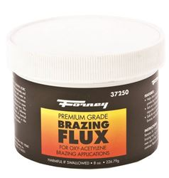 Forney Industries 37250 Brazing Flux, 1/2 Lb, Re-Sealable Tube, Powder, White