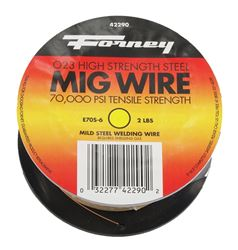 Forney 42290 MIG Welding Wire, 0.024 in Dia, Mild Steel, DCEP Reverse Polarity