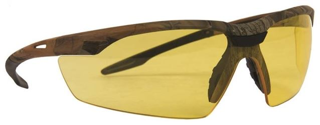 Conqueror 55437 Safety Glasses, Amber