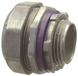 Halex 16215B Multi-Piece Liquid Tight Conduit Connector, 1-1/2 In Flexible, Die Cast Zinc