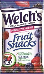 BERRY/CHERRY FRUIT SNACK 5OZ