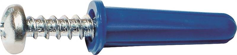 Midwest 10413 Conical Anchor, 1-1/2 in, Plastic